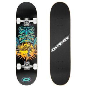 "Osprey Double Kick Skateboard - SAVAGES  31"" Skate board"