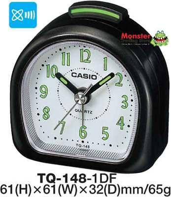 CASIO ALARM DESK CLOCK TQ-148-1DF 12 MONTH WARRANTY