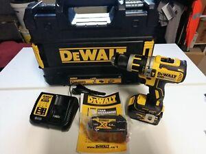 Dewalt - Perceuse-visseuse à percussion Compact 18V XR + 2 batteries 4Ah +...
