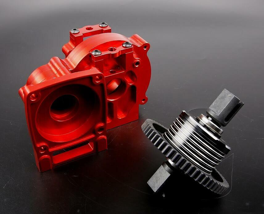 CNC  tuttioy Middle diff gear set 87094 fit for 1 5 scale Losi 5IVE-T ROVAN LT  esclusivo