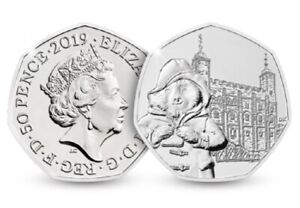 2019-UK-PADDINGTON-BEAR-AT-THE-TOWER-LONDON-UNCIRCULATED-COIN-50P-FIFTY-PENCE