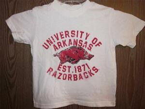 OMAHOGS Arkansas Razorbacks Baseball T-Shirt For Fan White Cotton Size S-6XL