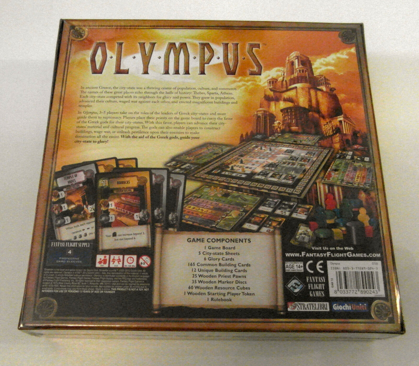 Olympus - Fantasy Flight Games - - - 2012 f80c61