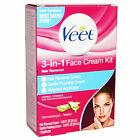 X2 VEET 3in1 Face Cream Kit Hair Remover Exp 2019