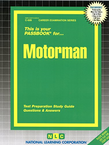 National Learning Corporation-Motorman BOOK NEW