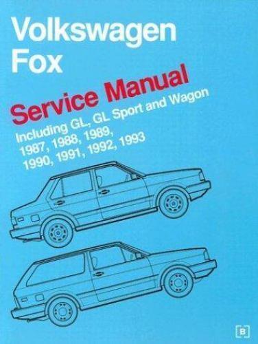 Volkswagen Service Manuals  Volkswagen Fox Service Manual