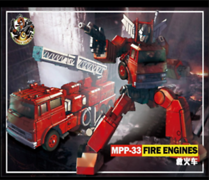 New edition, Deformation toys MPP-33 fire engine fire engine amplifier version