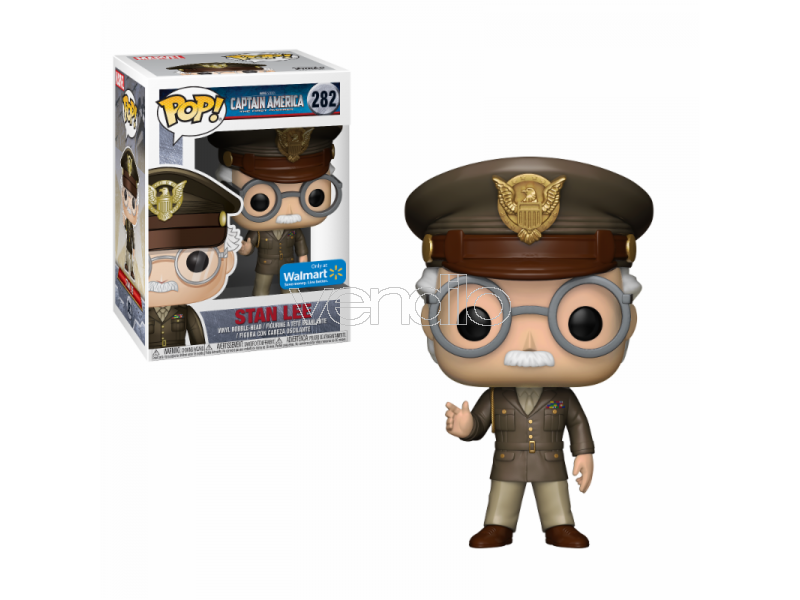 Funko POP Vinile Figura Figura Figura Stan Lee Cameo Generale Esercito 9 cm Esclusiva 418a66
