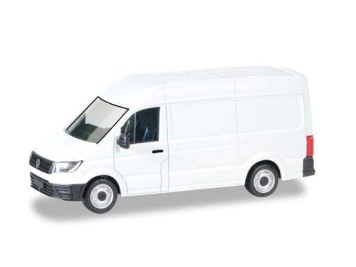 1:87//h0 VW Crafter riquadro tetto alto Herpa 013178 MINIKIT bianco