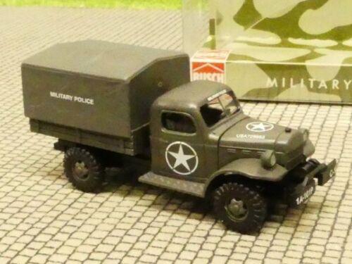 1//87 Busch Dodge Power Wagon Military Police USA 44003