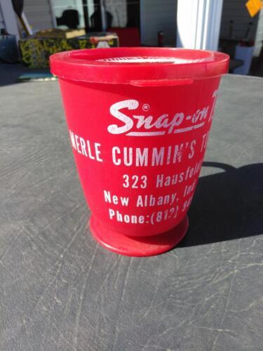 Vintage  Snap-On Dealer Promotional Cup Mug Merle Cummin/'s Tool Supply