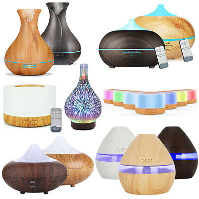 Electric Essential Oil Aroma Diffuser LED Ultrasonic