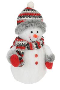 led schneemann beleuchtet deko beleuchtung weihnachten 8 leds mit farbwechsel 8711252993881 ebay. Black Bedroom Furniture Sets. Home Design Ideas