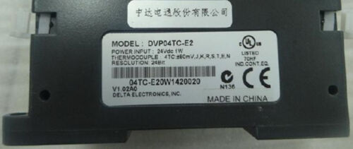 DVP04TC-E2 Delta ES2//EX2 Series Temperature Measurement Module new in box