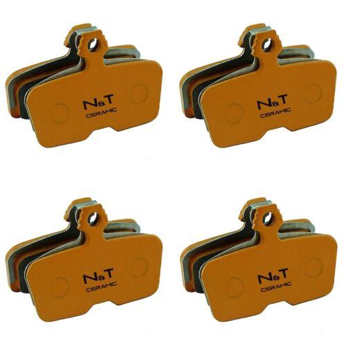 Semi Metallic Ceramic Sintered Disc Brake Pads Avid Code /& Code R Post 2011