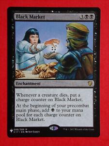 NM Magic the Gathering MTG 1x BLACK MARKET Mystery