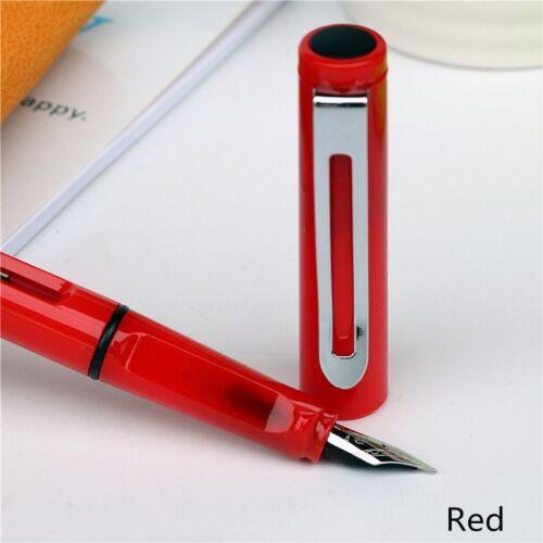 2pcs nib 5pcs Blue ink fountain pen set Jinhao colorful series new Listing ink