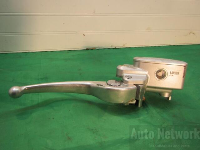 """1/"""" Front Brake Master Cylinder /& Clutch Suzuki S40 50 83 VL800 LS650 CHROME"""