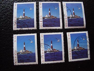 Effizient Norwegen a a30 1212 X6 Gestempelt Briefmarke Yvert Und Tellier Nr