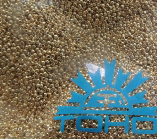 Toho 557 15//0 1,5 mm Perma Finisch galvanizhed 5 g