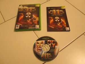 XBOX-STAR-WARS-KNIGHTS-II-OF-THE-OLD-REPUBLIC-THE-SITH-LORDS-OK-Xbox-360