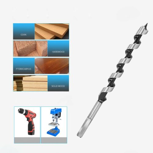 Auger Wood Drill Bits 6mm-25mm Joiner Carpenter Fast Cut Tool  Various Lengths