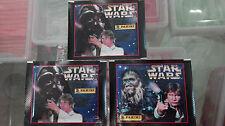 3 Sobres Cromos STAR WARS 1996 PANINI Nuevos Sin abrir VINTAGE guerra galaxias