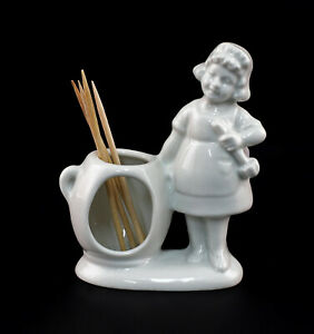 9942839-Toothpick-Holder-Hourglass-Cook-White-Wagner-amp-Apel-H7-5cm