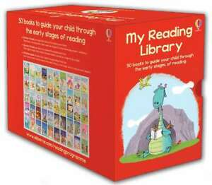 Usborne-My-Second-Reading-Library-50-Books-Level-3-amp-4-Children-Set-Paperback