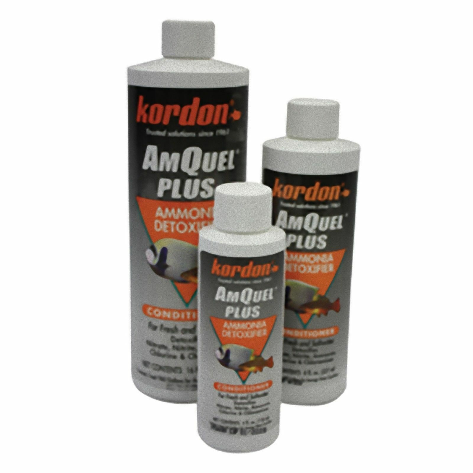 Kordon Amquel Plus 118ml 237ml 473ml Aquarium Fish Tank Nitrate Nitrite Ammonia
