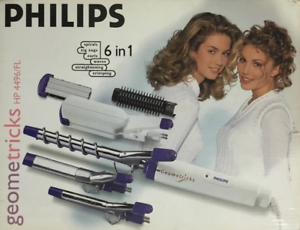 PHILIPS-GEOMETRICKS-HP-4496-FL-6-in-1-Hair-Styling-Styler-Curls-Crimpers-Waves