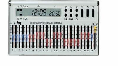 Crono-termostato a cursori Hipnos temperatura oraria giornaliera da parete