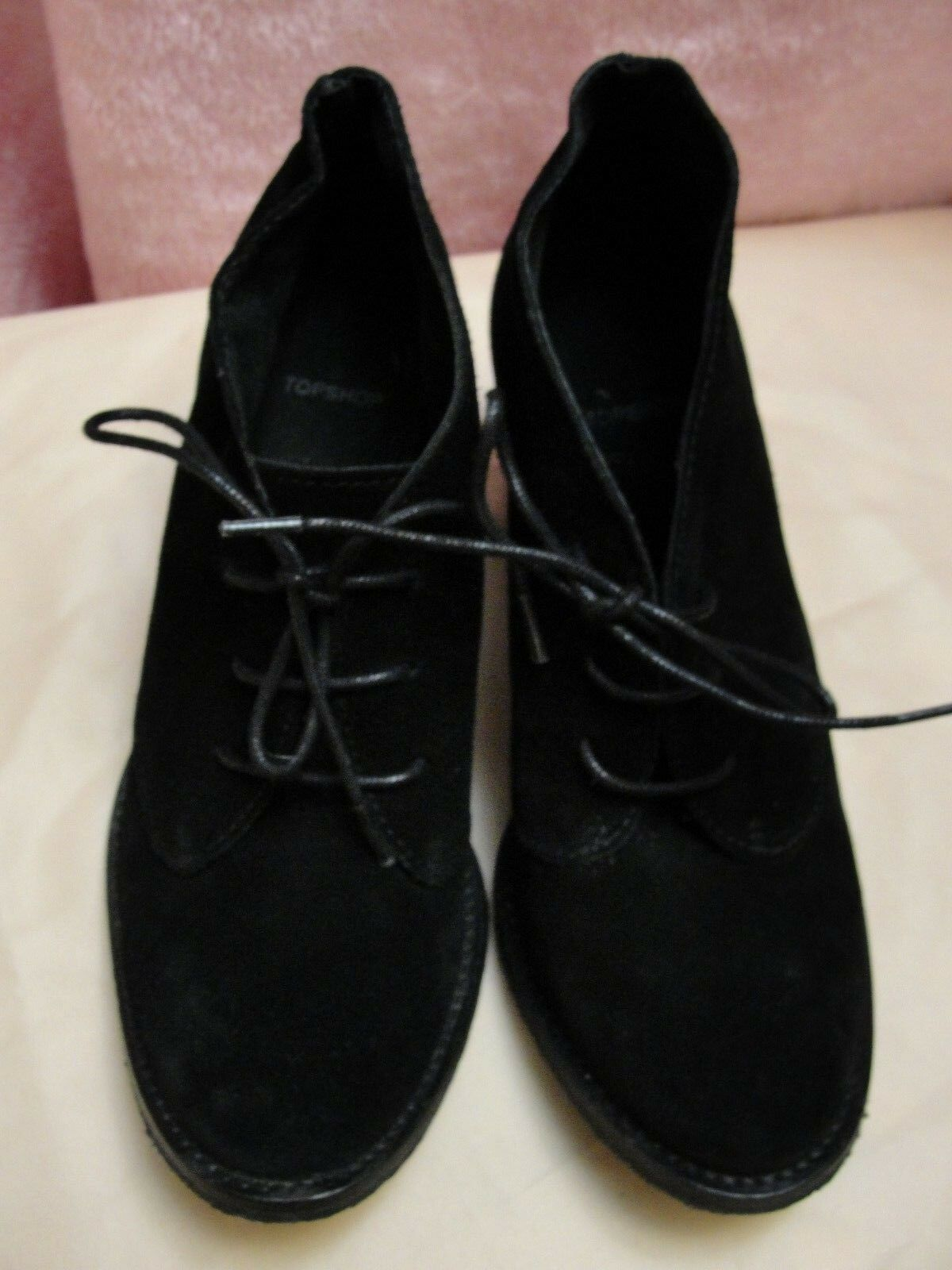Topshop Suede Leather boots - size eur 37