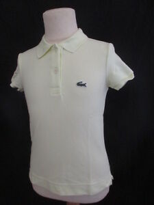 Polo-Lacoste-Jaune-Taille-8-ans-a-36