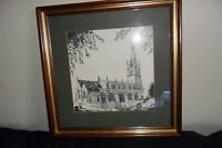 KIP POULSON SIGNED ST JOHNS CHURCH BROMSGROVE LIMITED EDITION PRINT 108/450 fram