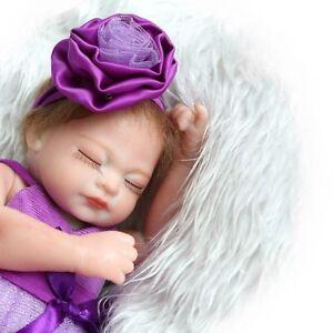 Real Looking Newborn Baby Realistic Vinyl Silicone Handmade Reborn Dolls Girl