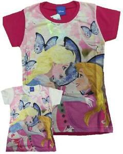 T-shirt-Bimba-Frozen-Maglietta-Manica-Corta-Bambina-Disney-23671