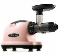 Omega J8006 Nutrition Center Juicer Comercial Masticating Fruit Vegetable Pink on sale