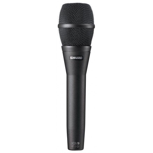 Patrón de doble Shure KSM9 Micrófono Micrófono Micrófono de mano-Negro  marca de lujo