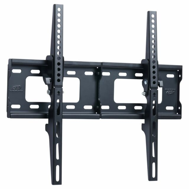 TV Wall Mount Bracket Flat 15° Tilt Swivel For 32
