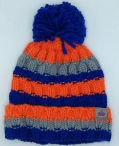 7cee9d32c53 NBA New York Knicks Cuffed Pom Winter Knit Hat Cap Beanie NEW!