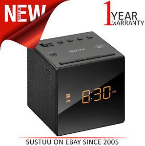 Sony-FM-AM-LED-Radiosveglia-graduale-Sveglia-Allarme-regolazione-automatica-del-tempo-Nero
