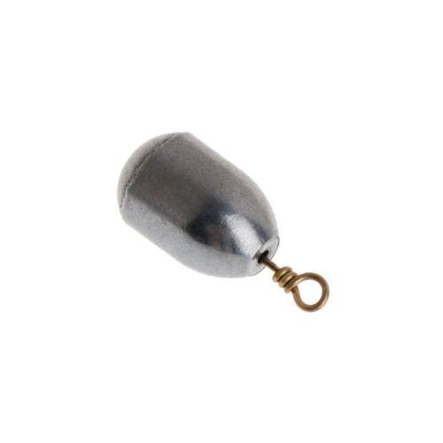 Lot 5Pcs Fishing Sinker Lead 4//7//10//14//20//28g Weights Plummet Lure Tackle Slip