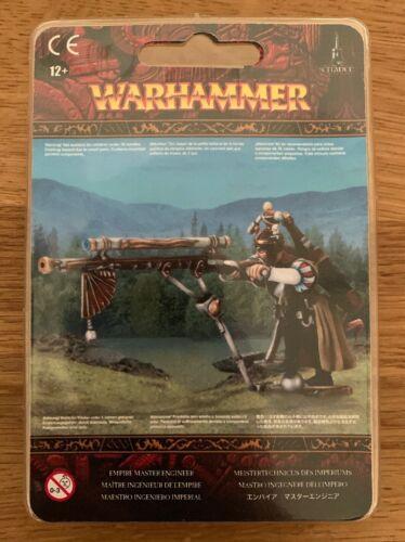 NEU /& OVP Warhammer Fantasy Empire Master Engineer // Meistertechnicus