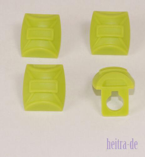 4 x Rucksack Fallschirmspringer Backpack lime grün 12897 NEUWARE a19 LEGO