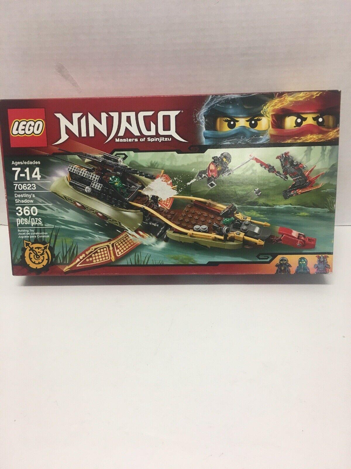 LEGO 70623 NINJAGO  DESTINY'S SHADOW   nuovo  GOOD CONDITION IN SEALED scatola