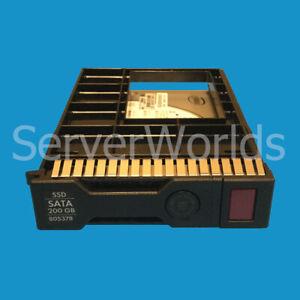 Lot-of-Four-4-HP-805378-001-200GB-SATA-6G-Mix-Used-3-5-034-SC-SSDs-804616-B21
