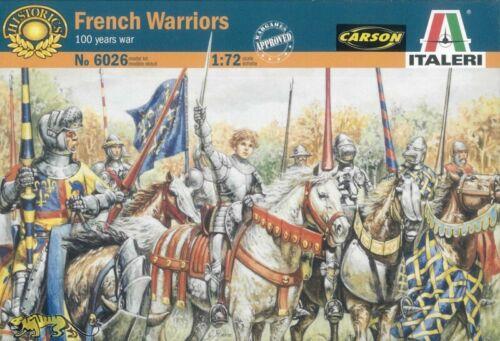 100jähriger Krieg 1:72 Französische Krieger Italeri 6026