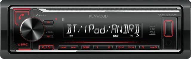 Autoradio Kenwood KMM-BT204 - Digital Media Receiver, Bluetooth-FSE, USB; AUX