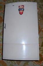 Vintage 1950's Wolverine Child Metal Tin Toy Polar Refrigerator Kitchen Fridge